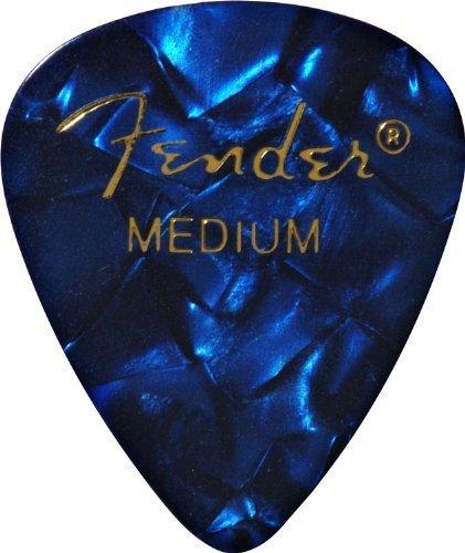 Fender Fender 351 Shape Premium Picks, Medium, Blue Moto