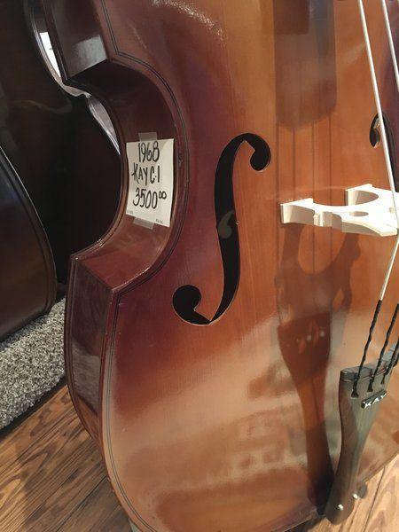 1968 Vintage Kay C-1 Upright Bass #55878