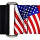 San Leandro Gtr Strap, Nylon USA Flag