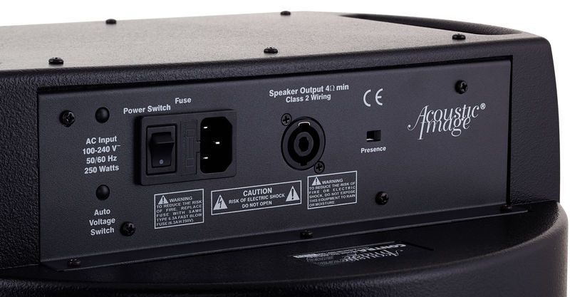 Acoustic Image Contra Amp