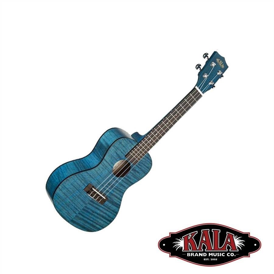 Kala Kala Tenor Blue Translucent Satin Exotic Mahogany