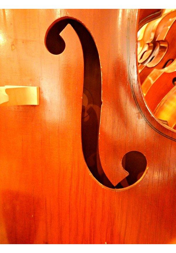 1971 Vintage Engelhardt EC1 Upright Bass #2734