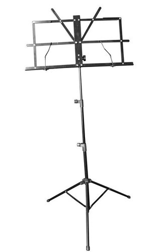 Stage Mate Black Music Stand W/Bag