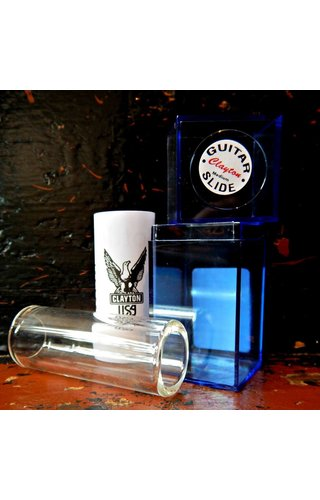 SteveClayton Clayton Glass Guitar Slide, Heavy Wall, Med