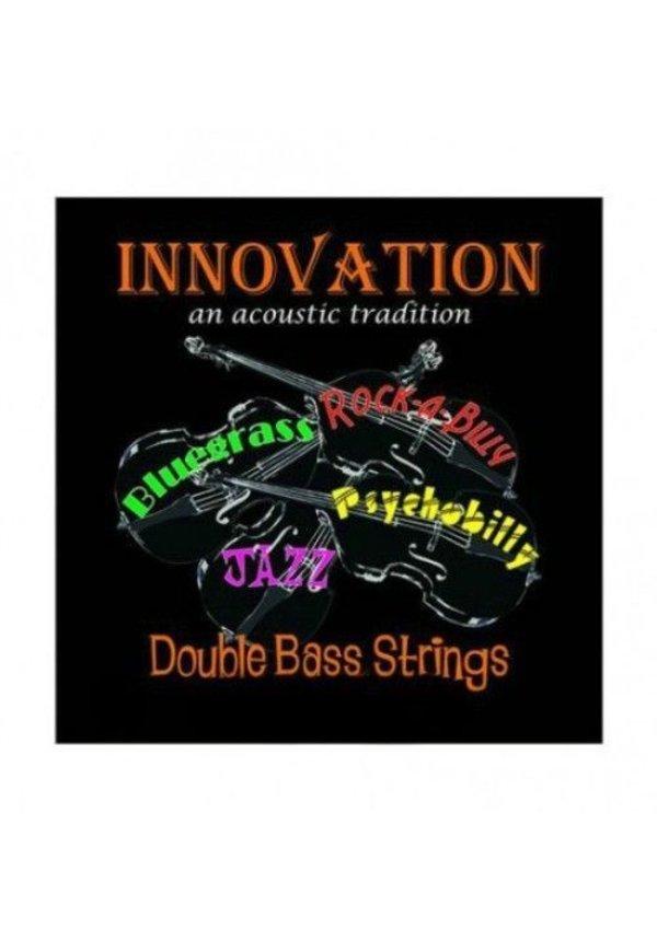 Innovation Rock-A-Billy Black Upright Bass String Set