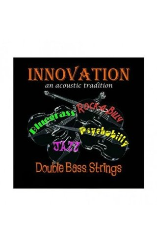 Innovation Polychrome Upright Bass String Set