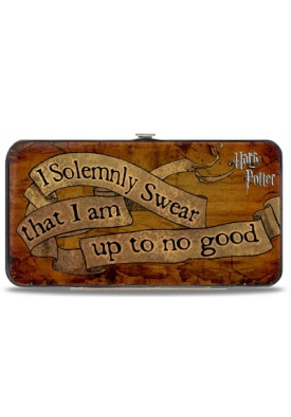 Hinged Wallet - Harry Potter I solemly Swear I That I Am Up To No Good