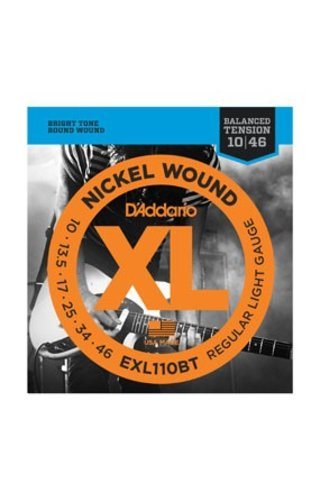 D'Addario D'Addario  EXL110BT Regular Light