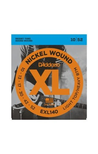 D'Addario D'Addario EXL140 Light Top/Heavy BTM Nickel Wound