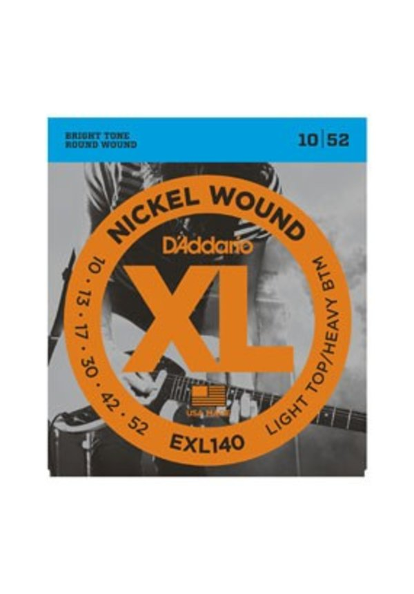 D'Addario EXL140 Light Top/Heavy BTM Nickel Wound