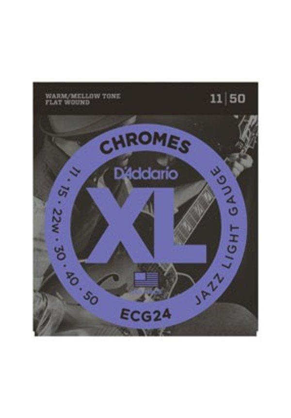 D'Addario Chrome Set ECG24