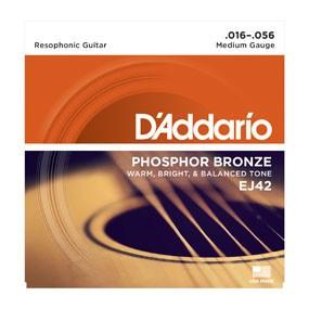 DAddario Fretted D'Addario EJ42 Resophonic Guitar