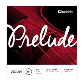 DAddario Orchestral D'Addario PRELUDE VIOLIN SET 3/4 MED