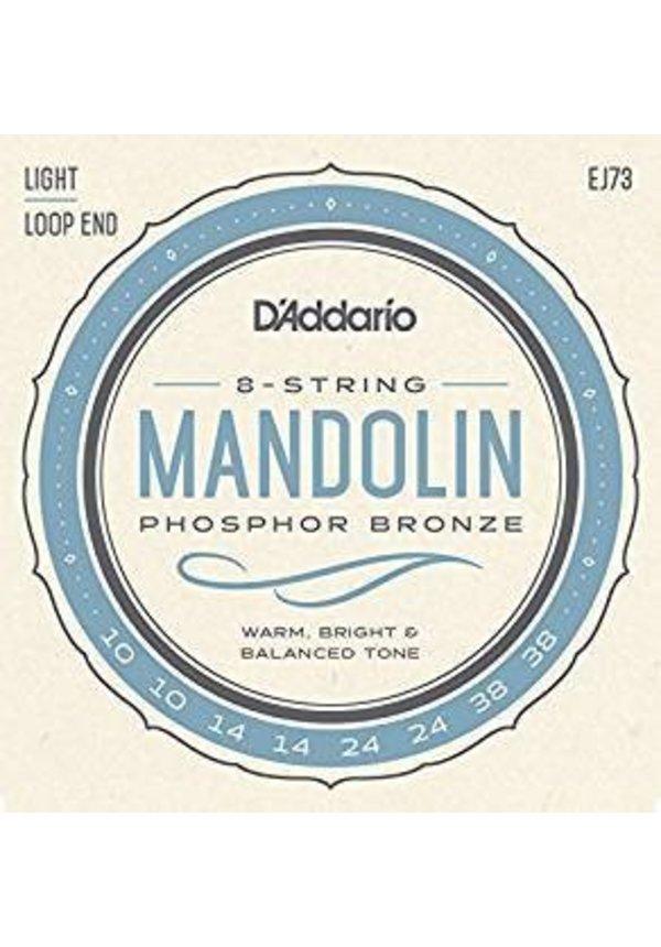 D'ADDARIO MANDOLIN PHOS BRZ LIGHT EJ73