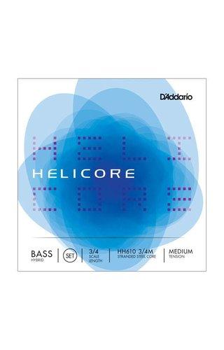 DAddario Orchestral D'ADDARIO HELICORE PIZZ BASS SET 3/4 MED