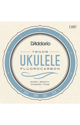 DAddario Fretted D'ADDARIO TENOR UKULELE CARBON EJ99T