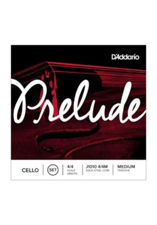 D'Addario PRELUDE CELLO SET 4/4 MED J1010