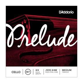 DAddario Orchestral D'Addario PRELUDE CELLO SET 4/4 MED J1010