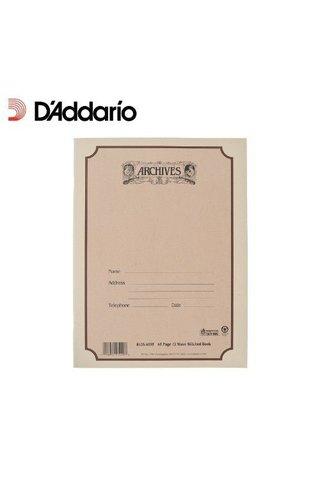 DAddario Orchestral ARC 12 STV 48 PG SPIRAL BOOK