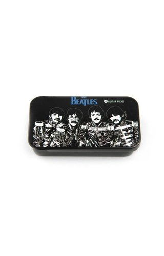 DAddario Planet Waves BEATLES PICK TIN -SGT. PEPPERS MED