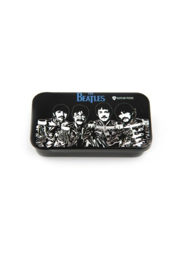 BEATLES PICK TIN -SGT. PEPPERS MED