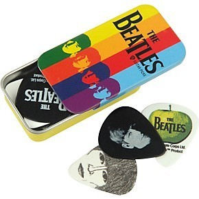 DAddario Planet Waves BEATLES PICK TIN - STRIPES