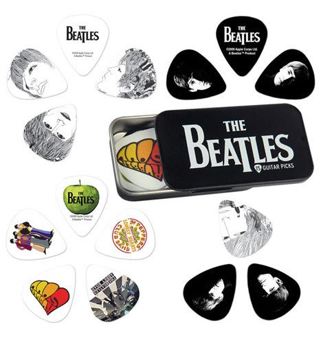 DAddario Planet Waves BEATLES PICK TIN - LOGO