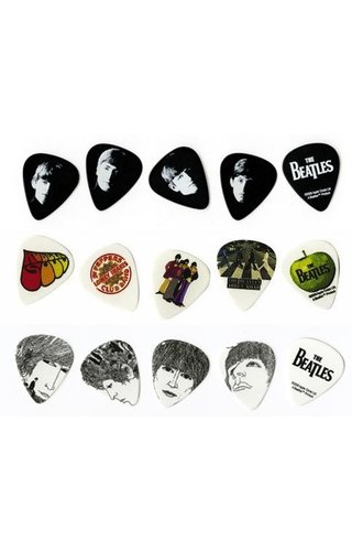 DAddario Planet Waves ASSORTED BEATLES PICK MED Single Pick