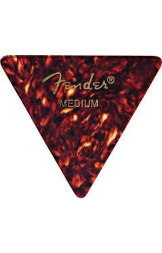 Fender Fender 355 Triangle shape Classic Cellulold guitar Pick Medium
