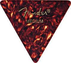 Fender Fender 355 Triangle shape Classic Cellulold guitar Pick Medium