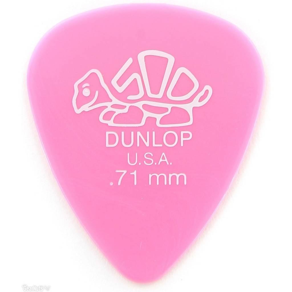 Jim Dunlop DUNL DELRIN PICK .71 Light Pink