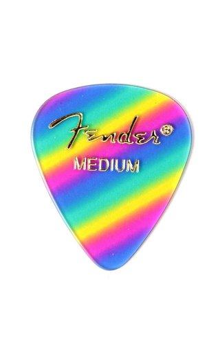 Fender Accessories Fender Standard Medium, Rainbow Pick
