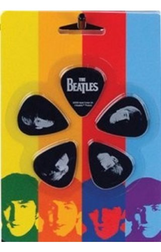 Planet Waves MEET THE BEATLES MED 10PK PICK