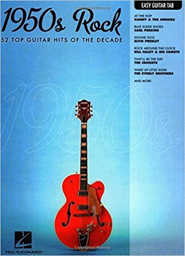 Hal Leonard 1950s Rock Easy Guitar with Notes & Tab Easy Guitar