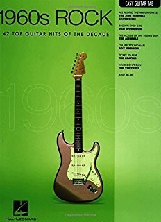 Hal Leonard 1960s Rock Easy Guitar with Notes & Tab Easy Guitar