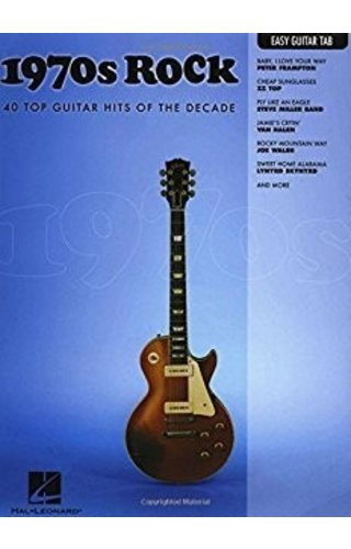 Hal Leonard 1970s Rock Easy Guitar with Notes & Tab Easy Guitar