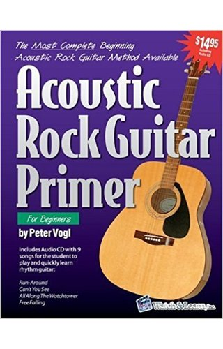 Watch & Learn ACOUSTIC RCK GTR PRIMER W/CD