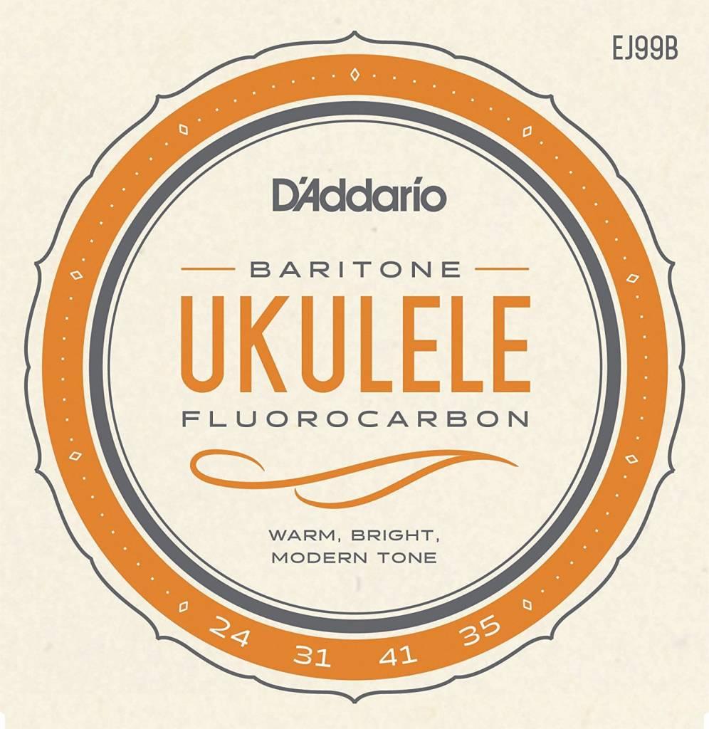 DAddario Fretted SET BARITONE UKULELE CARBON