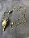 """""""Mischeif & Magic"""" Felix Felicis Bronze Potion Bottle Pendants Necklace"""