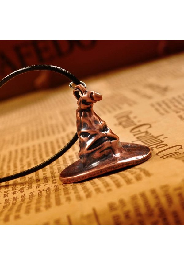"""""""Mischeif & Magic"""" Sorting Hat Necklace"""
