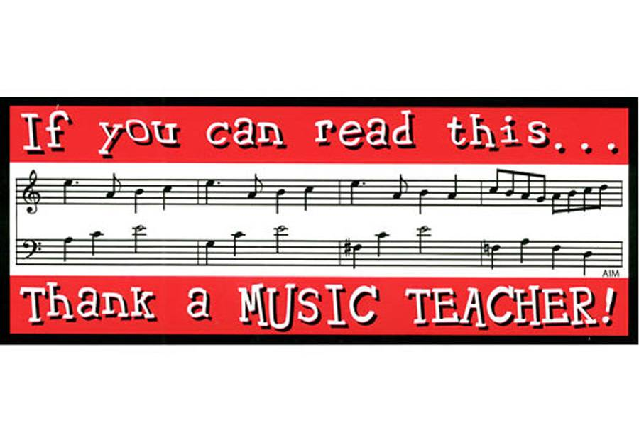 Bumper Sticker - If You Can Read This