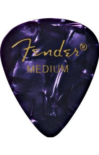Fender Fender 351 Picks Purple Moto Medium