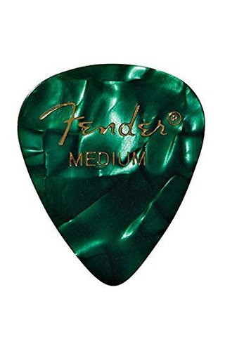 Fender Fender Green moto 351 Shape Pick Medium