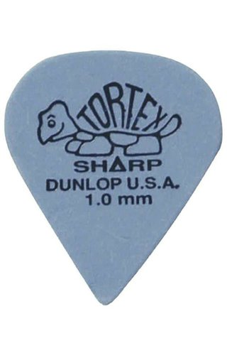 Jim Dunlop DUN TORT Blue Sharp  PLYRS PK1.00 12/PK
