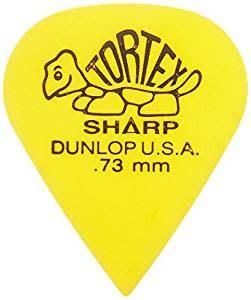 Jim Dunlop DUN TORT Yellow Sharp  PLYRS PK .73 12/PK