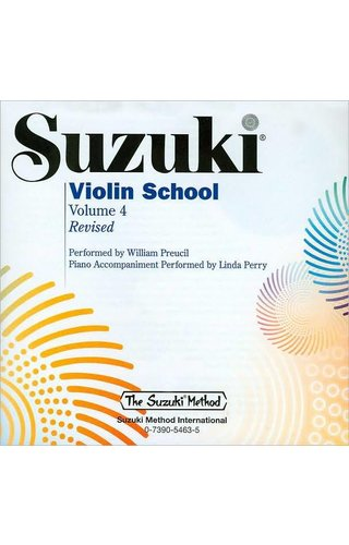 Suzuki Violin School Violin Part, Volume 4 (Revised)