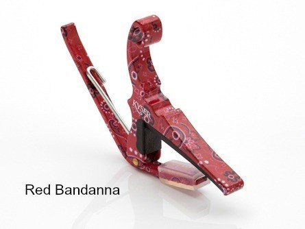 Kyser Kyser Quick Change Acoustic Capo - Red Bandanda