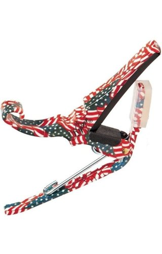 Kyser Kyser Quick Change Acoustic Capo - American Flag