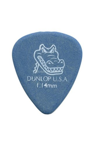 Dunlop Dunlop Gator Grip Plectrum Pick - Blue 1.14mm