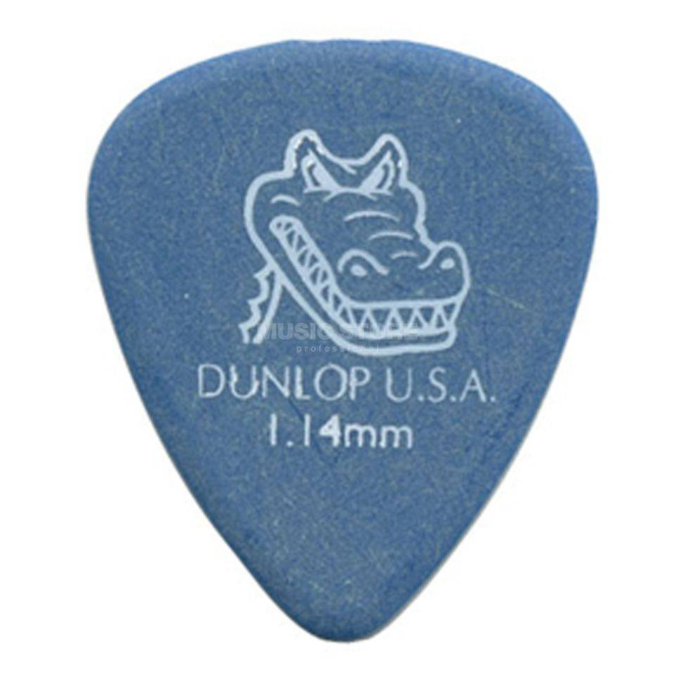 Dunlop Dunlop Gator Grip Plectrum Pick - Blue 1.14mm